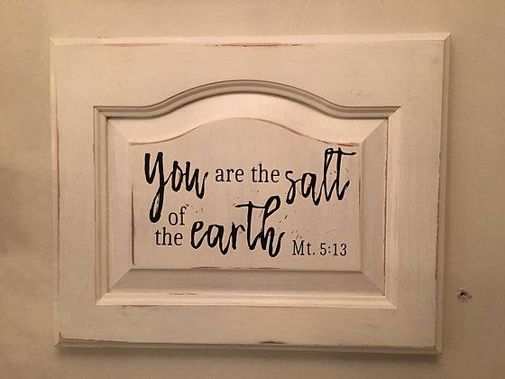 Mt. 5:13