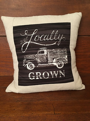 Locally Grown Pillow