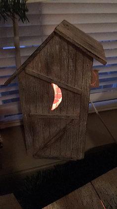 "Primitive ""Outhouse"""