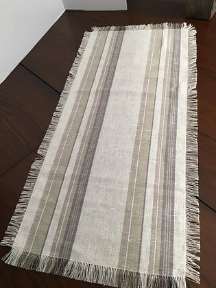 Table Runner with self fringe
