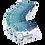 Thumbnail: Zestaw 10 szt. Maseczek Ochronnych SilverMask z Filtrami NanoProtect