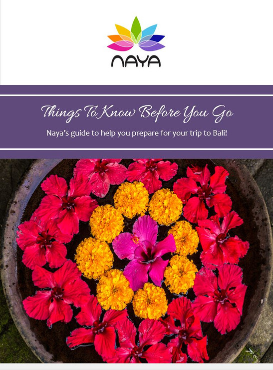 Naya's Top Tips For Your Trip to Bali