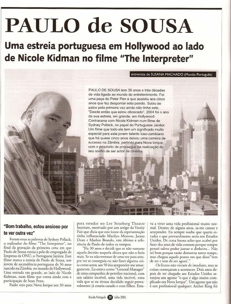 Mundo Portugues - Julho 20053