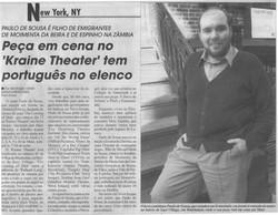 Luso Americano article