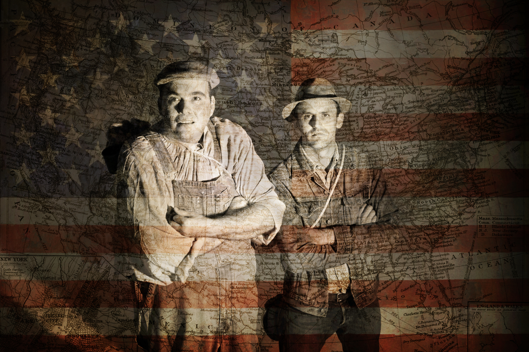 Of Mice and Men - Paulo de Sousa and Ronnie Gunter - America