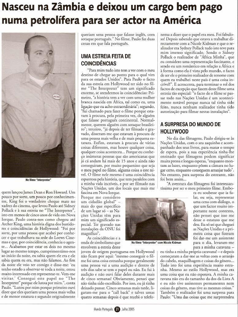 Mundo Portugues - Julho 20054