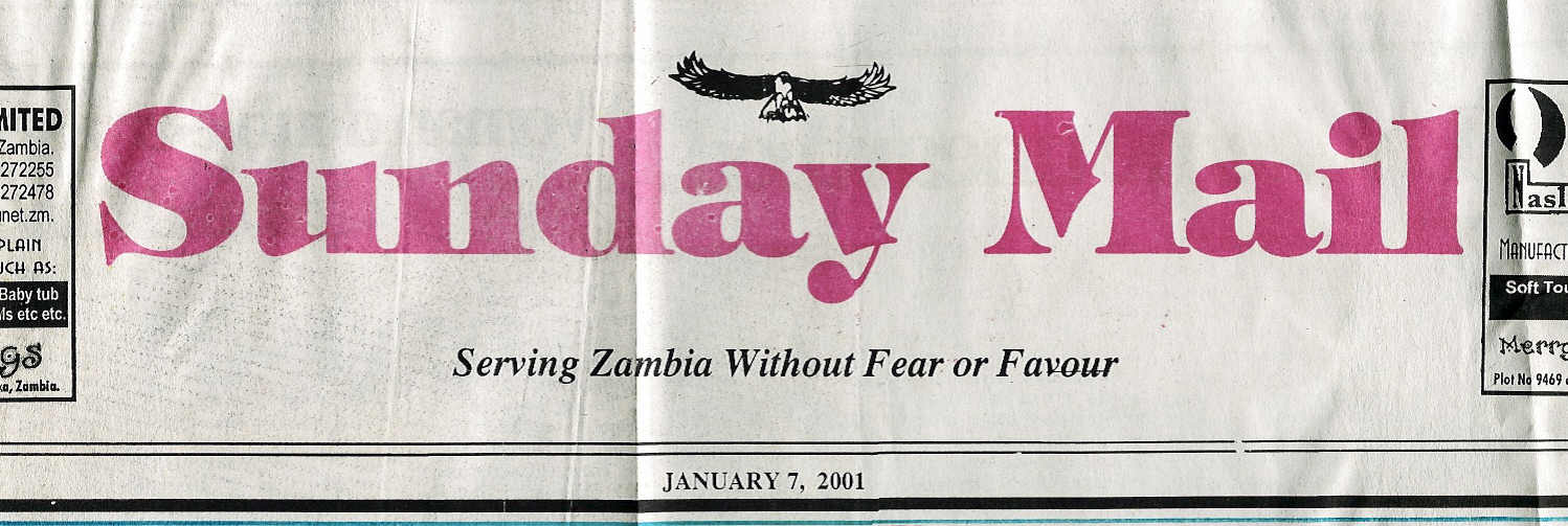 Sunday Mail Header