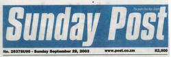 Sunday Post Header