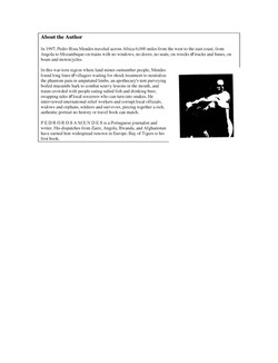 Bay Of Tigers - Book Author Bio