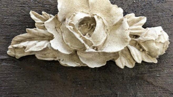 WoodUbend Rose Garland code 0351 approx size 6.5x3cm