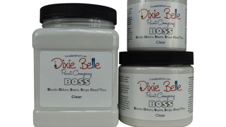 Boss Clear by Dixiebelle, blocks odours, stops bleed through