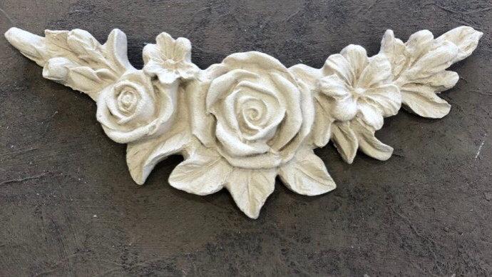 WoodUbend Flower Garland code 0349 approx size 15.7x3.2