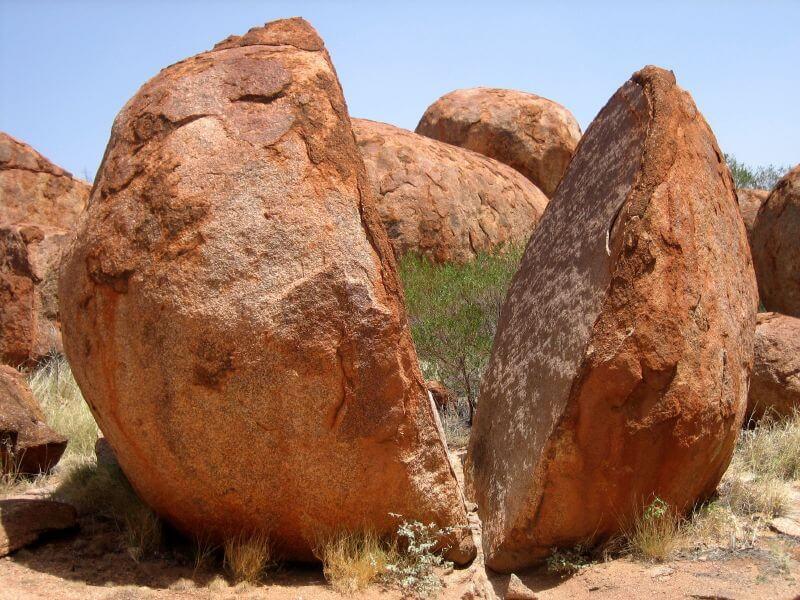 meteorizacion de las rocas
