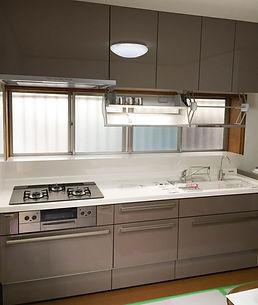 システムキッチン施工写真