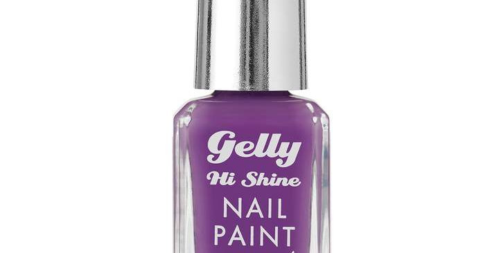 Barry M Gelly Nail Paint Parma Violet