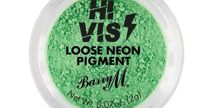 Barry M Hi Vis Neon Pigment Green