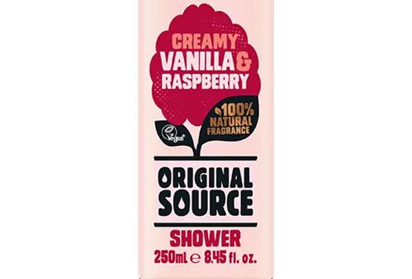 Original Source Vanilla & Raspberry 250 ml