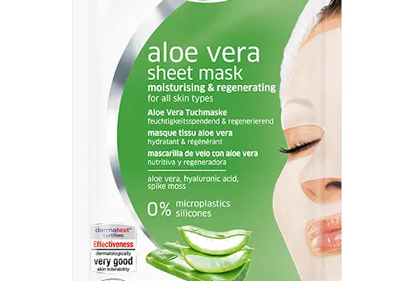Schaebens Aloe Vera Sheet Mask