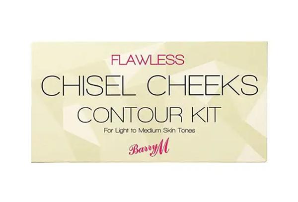 Barry M Chisel Cheeks Contour Kit Light Medium
