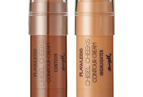 Barry M Chisel Cheeks Contour Cream Sticks Multi