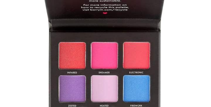 Barry M Neon Brights Eyeshadow Palette