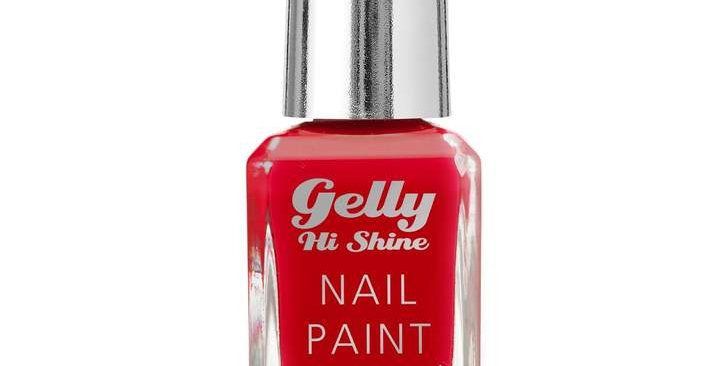 Barry M Gelly Hi Shine Nail Paint Hot Chilli