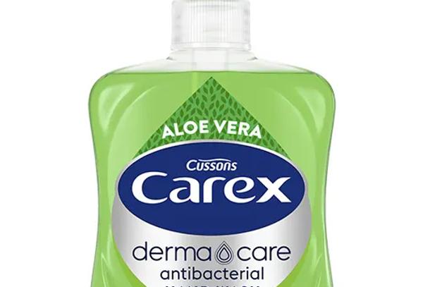 Carex Dermacare Aloe Vera Antibakteriell Handtvål Eco 250 ml