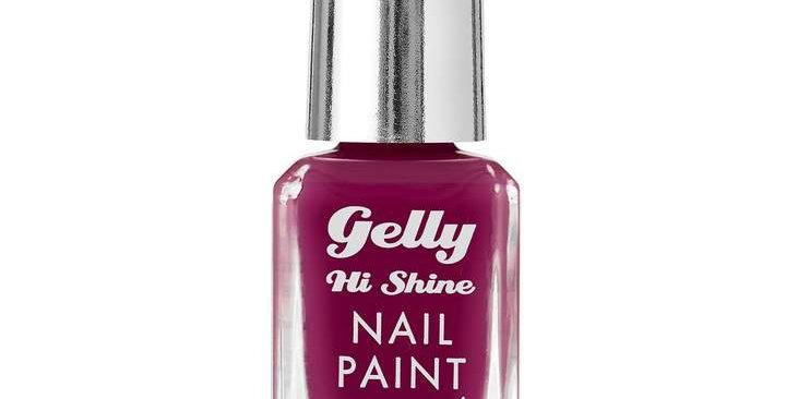 Barry M Gelly Nail Paint Plum Jam