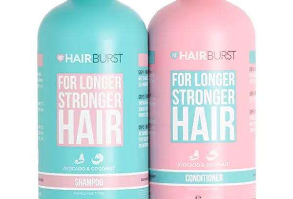 Hairburst Shampoo & Conditioner For Longer stronger Hair 700ml