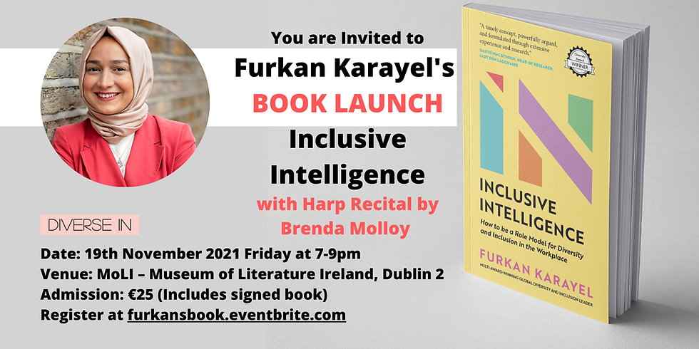Book Launch : Inclusive Intelligence by Furkan Karayel