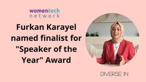 Furkan Karayel named finalist for Speaker of the Year Award