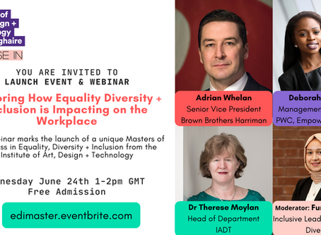 Webinar:Exploring How Equality Diversity Inclusion is Impacting on the Workplace
