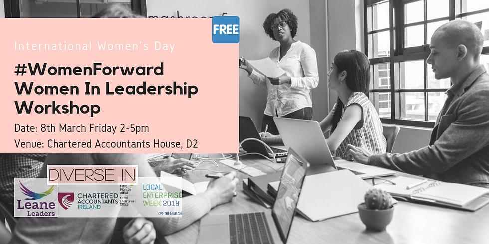 #WomenForward Women in Leadership Workshop Dublin
