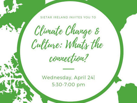 Climate Change and Culture Event Together By SIETAR Ireland