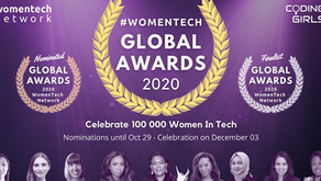 WomenTech Global Awards Winners are Announced