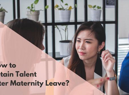 How to Retain Talent after Maternity Leave