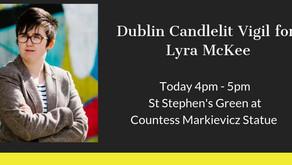 Dublin Candlelit Vigil for Lyra McKee