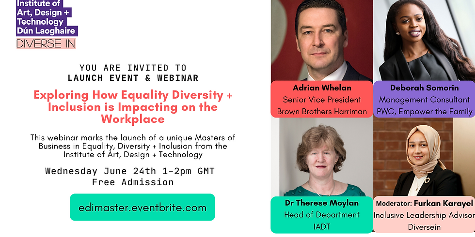 Exploring How Equality Diversity Inclusion is Impacting on the Workplace