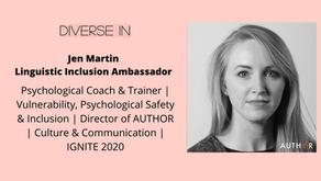 New Linguistic Inclusion Ambassador Announcement