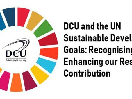 DCU To Host Sustainable Development Goals Conference in May
