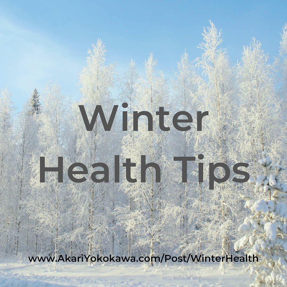 Winter Health Tips with Chinese Medicine