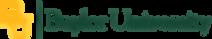 Voice Actor Serge De Marre's client Baylor University logo
