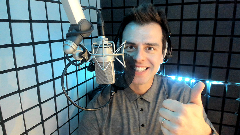International English voice talent with home studio