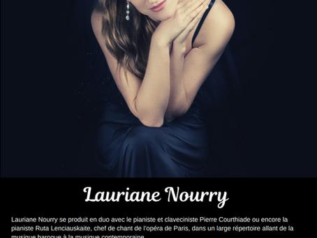 Concert de Lauriane Nourry