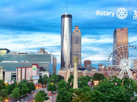 Centenaire de la Fondation Rotary : Atlanta