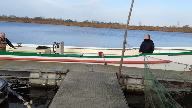 Boot von Schröder zum Ausbringen
