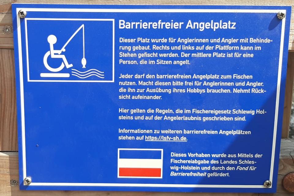 Barrierefreier Angelplatz