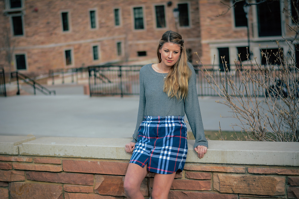 Holly Canon Blog Create Good Skirt High School