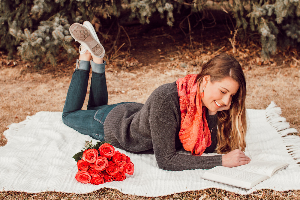 Holly Canon Travel and Lifestyle Blog Erika Dash Photography Roses Valentine's Love and Respect Book Christian Relationships Bible Centered Love Express Sweater White Converse American Eagle Outfitters Blonde beach waves Denver Colorado Engaged Married Bride Wedding Fights Arguments Conflict Resolution Happy Relationships Healthy Relationships