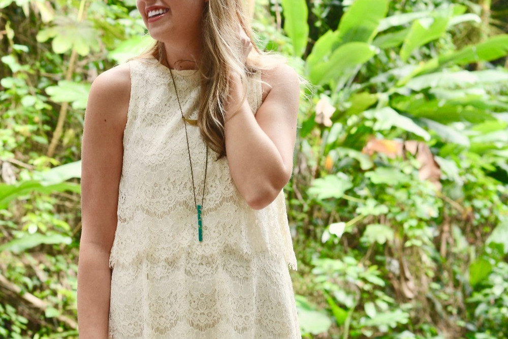 Holly Canon Travel and Lifestyle Blog Puerto Rico Waterfalls Hawn Jewelry Necklace